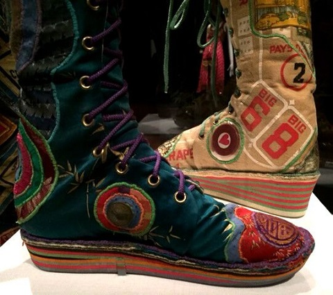Sgoes from Summer of Love exhibit, deYoung Museum, San Fran/Photo provided by Wendy Verlaine