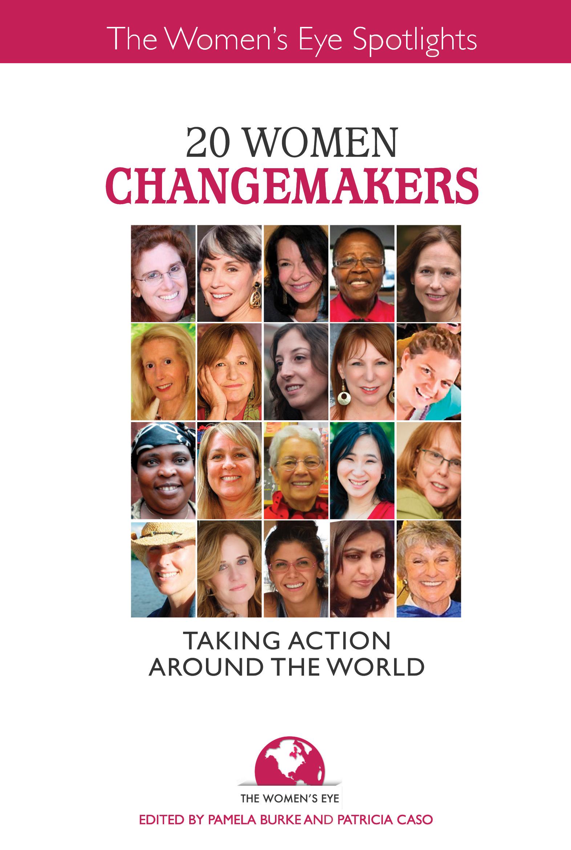 20 Women Changemakers Book Cover | The Women's Eye Magazine & Radio Show