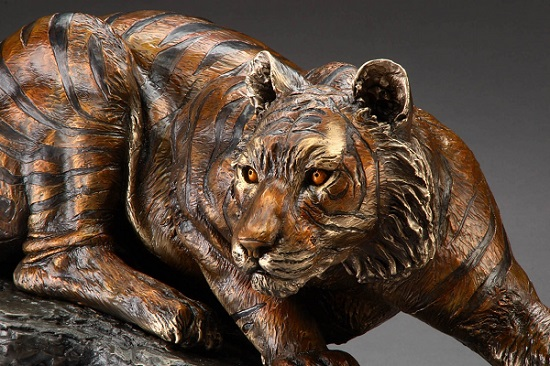 "Kristen Visbal's ""The Prowler"" statue/Photo: provided by Kristen Visbal"