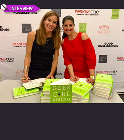 """""""Geek Girls Are Rising"""" Say Authors Heather Cabot and Samantha Walravens"""