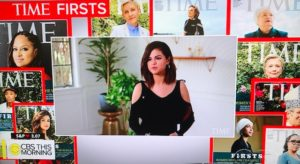 "Time Magazine's ""Firsts"" Video of Groundbreaking Women/Photo: CBS News Screenshot"