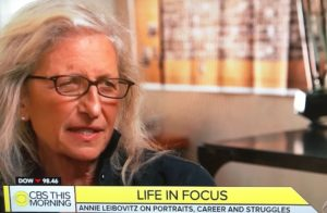 Annie Leibovitz on CBS This Morning/Photo: CBS Screenshot