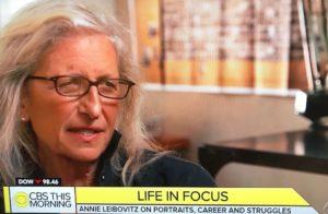 Annie Leibovitz on CBS This Morning/Photo: CBS Screenshot