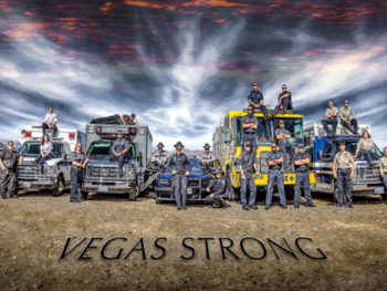 Photo: VegasStrong1 photo of Las Vegas First Responders | Photo by Daniel Sundahl