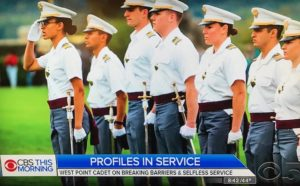 Simone Askew, head of Corps of Cadets/West Point--Photo: Screenshot CBS News