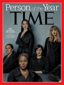 TIME Magazine Cover--The Silence Breakers--Person of the Year-2017