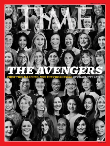 TIME Magazine Avenger Cover/1/22/18
