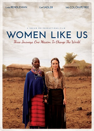 Sally Colon-Petree poster for her documentary Women Like Us/Poster provided by Sally