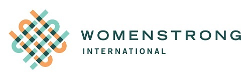 logo for WomenStrong Internation, founded by Dr. Susan Blaustein