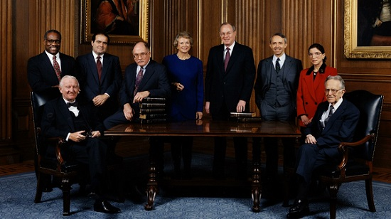 Supreme Court Justices 1993/Photo: Courtesy Magnolia Pictures