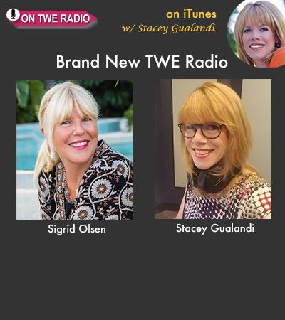 TWE RADIO: Fashion Designer-Turned-Author Sigrid Olsen On Redesigning Her Life
