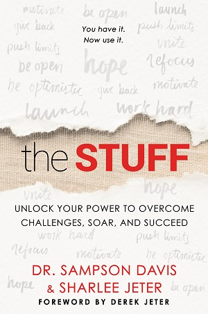 """The Stuff"" by Sharlee jeter and Dr. Sampson Davis/Cover provided by Gallery Books"