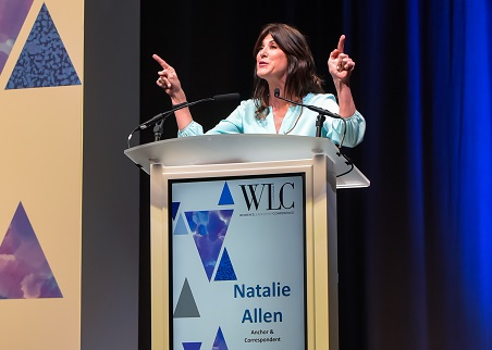 Natalie Allen at Women's Leadership Conference, Las Vegas/Photo Courtesy WLC