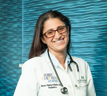 "Dr, Mona Hanna-Attisha, author ""What the Eyes Don't See""/Photo: Mike Naddeo"