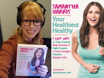 TWE Host Stacey Gualandi with Samantha Harris, author of Your Healthiest Healthy | The Women's Eye Podcast