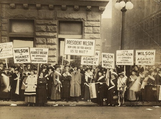 Women suffragettes/Photo: Library of Congress