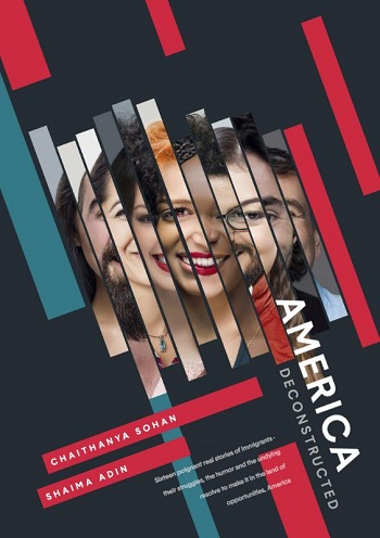 America Deconstructed book by Chaithanya Sohan and co-author Shaima Adin