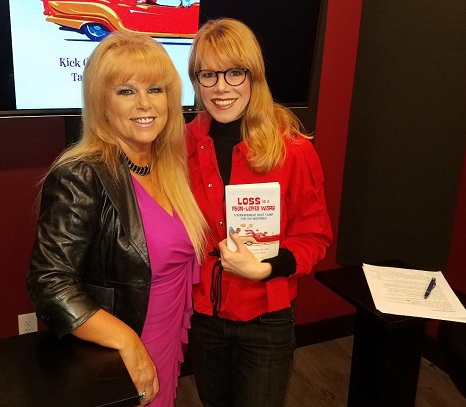 Carole Brody Fleet, author, and Stacey Gualandi/Photo Courtesy of Stacey Gualandi | The Women's Eye Magazine and Radio Show
