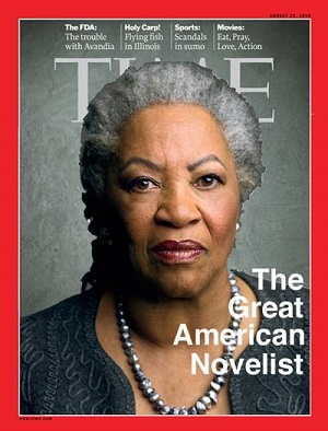 Toni Morrison Time Magazine Cover | The Women's Eye Magazine and Radio Show