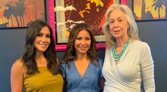 Felicia Romero, Catherine Anaya, Catherine Scrivano for TWE