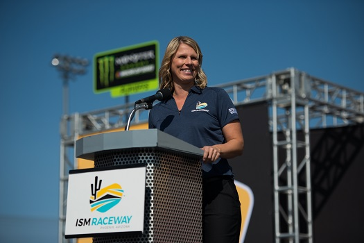 Julie Giese at Can-Am 500