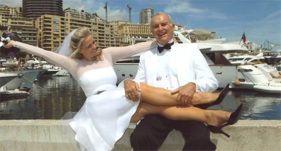 Pat and husband Bob Bondurant
