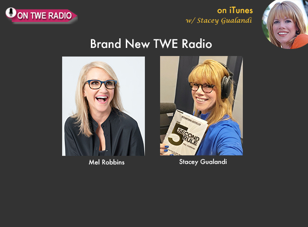 TWE RADIO: New Talk Show Host Mel Robbins On Curing Anxiety and Conquering TV