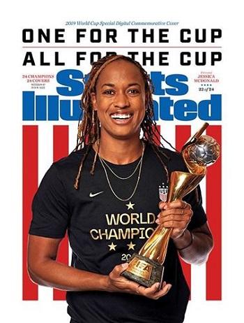 Jessica McDonald on Sports Illustrated