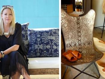 Linda Hamilton, founder of Nomad Chic Boutique | Photos from Linda Hamilton