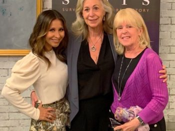 TWE Host Catherine Anaya, TWE Finanacial Contributor Catherine Scrivano, TWE Founder Pamela Burke